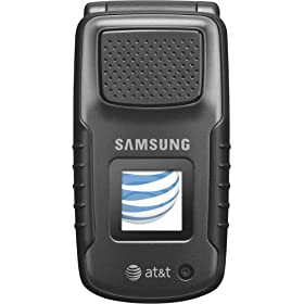 Samsung Rugby a837 Phone, Black (AT&T)