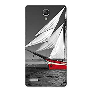 Delighted Vintage Ship Multicolor Back Case Cover for Redmi Note