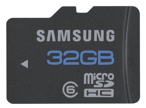 Carte mémoire microSDHC 32 Go - class 6