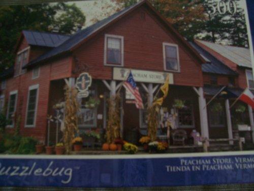 Puzzlebug 500 Piece Peacham Store, Vermont by Greenbrier