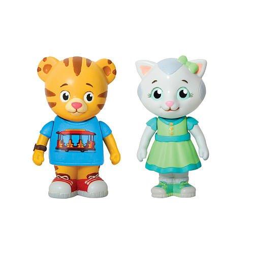 Daniel Tiger's Neighborhood Daniel Tiger and Katerina Kittycat Figures