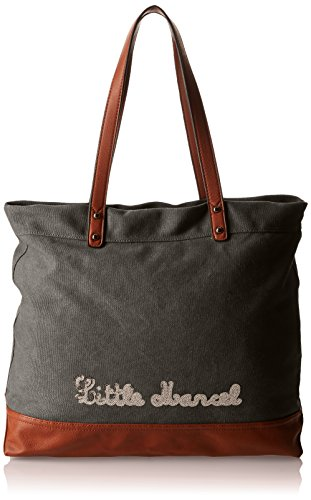Little Marcel Hello, Borsa a spalla donna , Nero (Black (nero)), Taille Unique