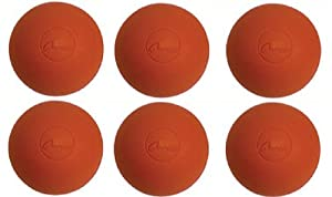 Buy Half Dozen (6) Red NFHS NCAA Lacrosse Balls by Champion