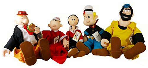 Popeye and Friends 1985 Vintage Doll Collections