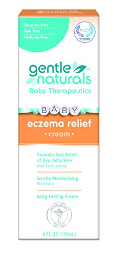 Gentle Naturals Eczema Cream, 4 Ounce (Natural Eczema Cream compare prices)