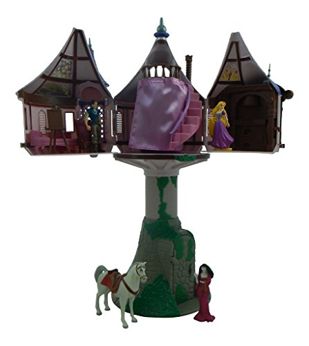 Disney-Parks-Rapunzel-Tangled-Tree-House-Playset-Dollhouse