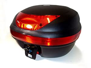 Motorcycle Scooter Top Box Tail Trunk Luggage Box (Medium) 997