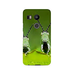 TAZindia Designer Printed Hard Back Case Mobile Cover For LG Nexus 5X