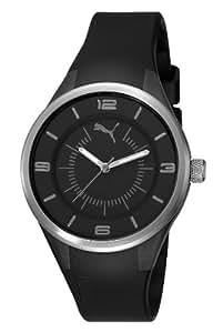 Puma Time Damen-Armbanduhr Fusion - S Black Analog Quarz Plastik PU911002005