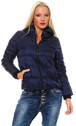 Bosideng signore trapuntato giacca piumino giacca invernale Peacoat blu scuro Medium