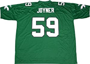 Seth Joyner Eagles Men's Home Green Premier Reebok Vintage Jersey - 4XL