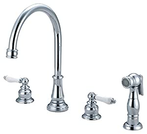 Pioneer 2BR211 Two Handle Kitchen Widespread Faucet,