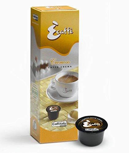 Choose Caffè Crema-EnveaBox M: 100 Ècaffè Caffitaly Caffè Crema Capsules from Caffitaly System