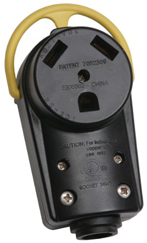 Arcon 18206 30-Amp Replacement Generator Power Receptacle