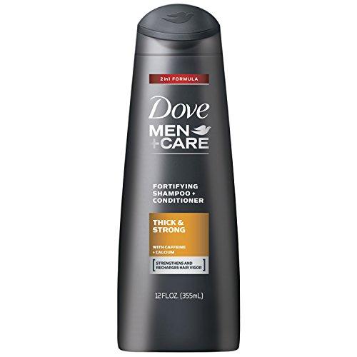 Dove Men+Care 2 in 1 Shampoo and Conditioner, Thick and Strong 12 Ounce (Shampoos And Conditioners compare prices)