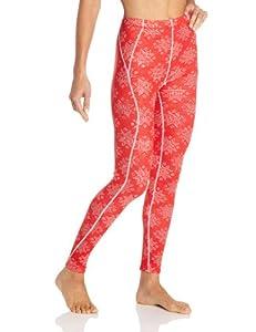 Helly Hansen Women's Warm Pant, Alert Red/White, X-Small