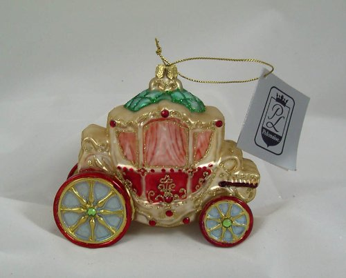 Vintage Carriage 1700's Polonaise Christmas Ornament