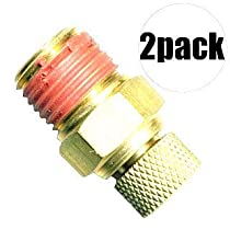 Coilhose Dv04 2 Pk Air Compressor Tank Replacement Air Petcock 1/4 Inch Npt