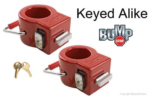 Master King Pin Lock-Toy Hauler/Trailer Locks w/ BumpStop #387NKA-2 (Fifth Wheel Lock Master compare prices)