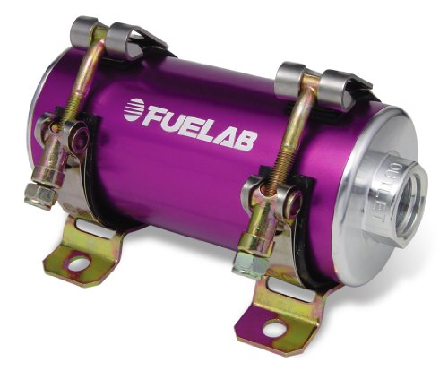 Fuelab 42402-4 Prodigy High Power Efi Purple In-Line Fuel Pump