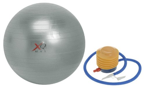 XQMax 75cm Swiss Gym Exercise Ball with Pump