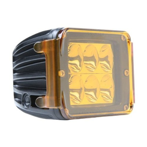 Rigid Industries 20192 Led Light Cover Protective Dually/D2 Amber