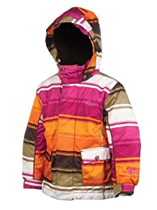 Protest Girl's ENJOY boardjacket  - Brown Earth, age 4