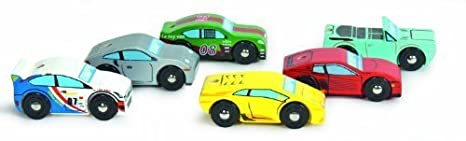 Le Toy Van Monte Carlo Sports Cars by Le Toy Van (English Manual)