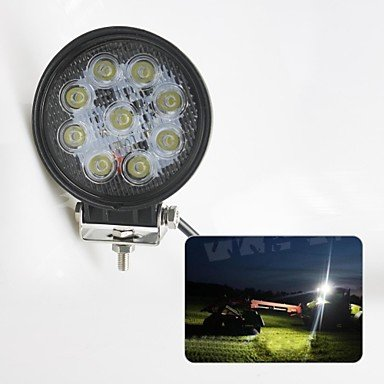 "Commoon Liancheng? 4"" 27W 2160 Lumens Super Bright Led Work Light For Off-Road,Tractor,Utv,Atv"