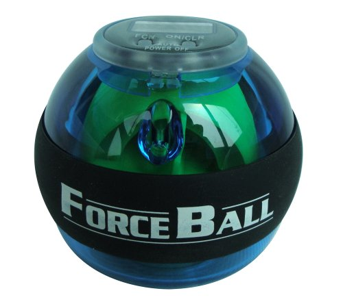 Us Samdi® Force Ball Or Name Power Ball, With Led And Digital Counter, Power Gyro Wrist Ball, A Popular And Fashion Toys All Over The World (Blue)