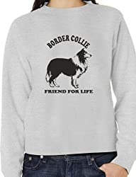 Border Collie Dog Lover Adult Sweater Jumper Birthday Gift Idea Size S-XXL