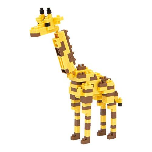 Kawada NBC-094 Kawada Nano Block Giraffe (NBC-094) Building Kit - 1