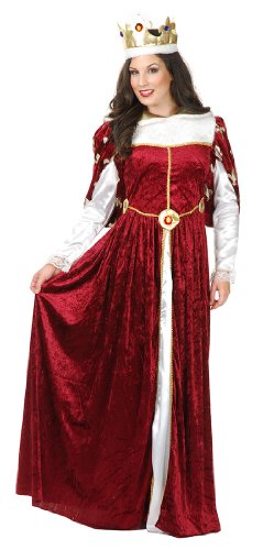 Queen's Wine Gown Adult Costume