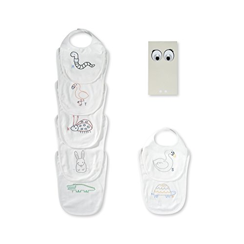 Stella McCartney Kids Baby Teddie 7 Day Bib Set Gift Set 382798