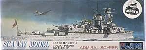 "Fujimi 1/700 German Battleship Admiral Scheer"" """