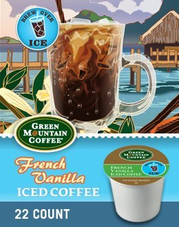 French Vanilla Iced Coffee K-Cup 88 Count