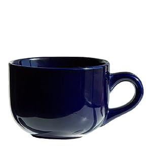 4 Pack - Cobalt Blue Latte Cups, 16 Ounce