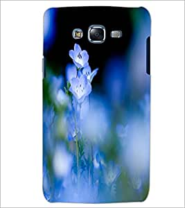 PrintDhaba Beautiful Flowers D-1206 Back Case Cover for SAMSUNG GALAXY J7 (Multi-Coloured)