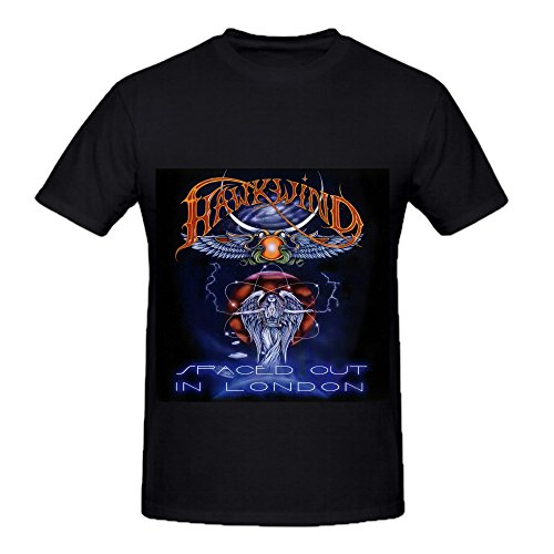 hawkwind-spaced-out-in-london-rock-album-cover-mens-crew-neck-custom-t-shirt-black