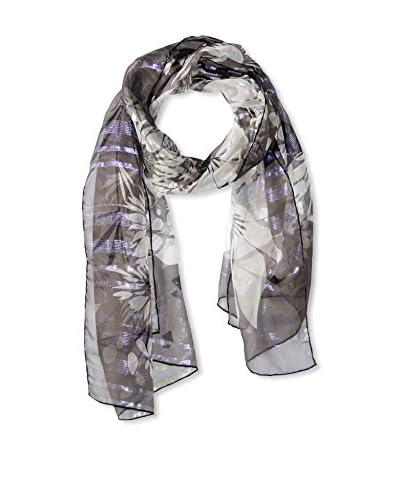 Salvatore Ferragamo Women's Patterned Scarf, Purple