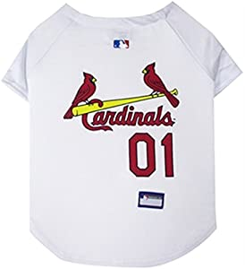 St. Louis Cardinals Authentic Dog Jersey