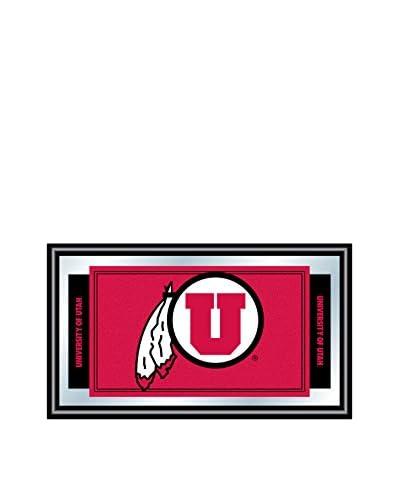 Trademark Global University of Utah Logo & Mascot Framed Mirror