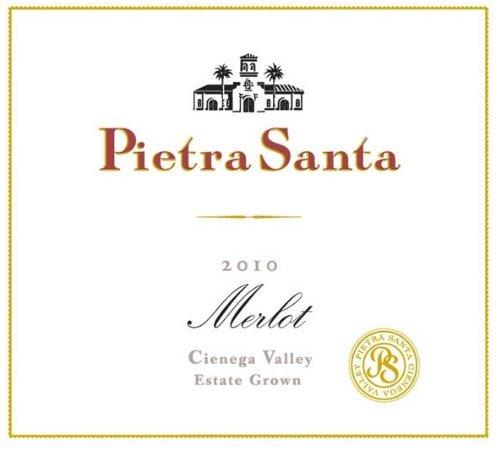 2010 Pietra Santa Estate Grown Cienega Valley Merlot 750 Ml