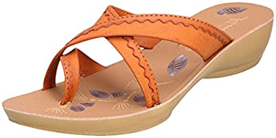 Action Shoes Women's Synthetic Leather Slippers