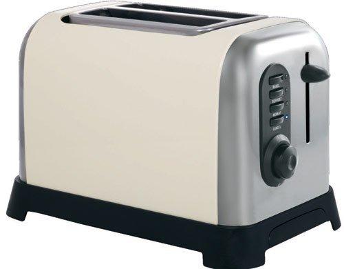 Manhattan 2 Slice Toaster Colour: Cream from Sabichi