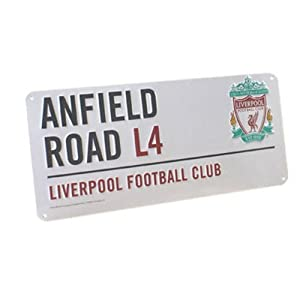 Anfield Road Street Sign from Liverpool FC