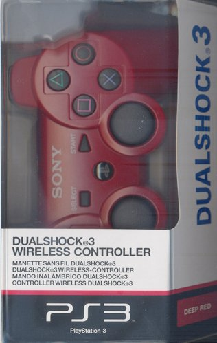 PS3 DualShock Controller Red
