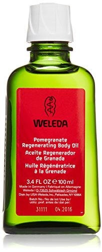 Weleda Regenerating Body Oil, Pomegranate, 3.4 Ounce