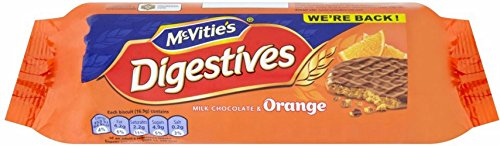 Mcvitie'S Digestives - Milk Chocolate & Orange (300G)