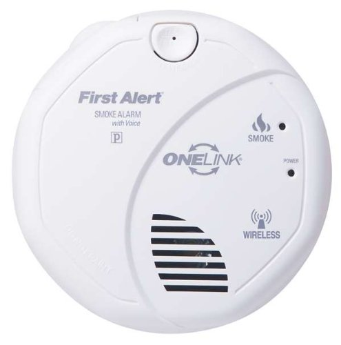 first alert smoke alarm wireless battery powered photoelectric onelink w vo. Black Bedroom Furniture Sets. Home Design Ideas